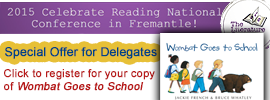 Celebrate Reading Conference 2015 Offer